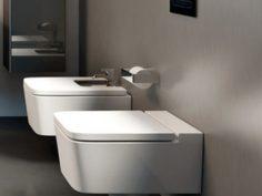 Inspira SQUARE  окачена порцеланова Rimless тоалетна